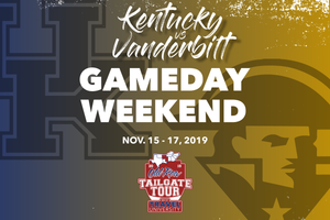 Kentucky vs Vanderbilt Gameday Weekend | Old Row Tailgate Tour