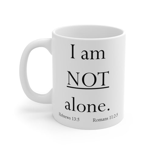 Not alone - Mug (11 oz)