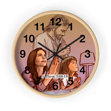 Load image into Gallery viewer, Pray - Wall clock