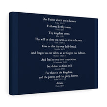 Load image into Gallery viewer, The Lord's Prayer - Canvas Gallery Wrap