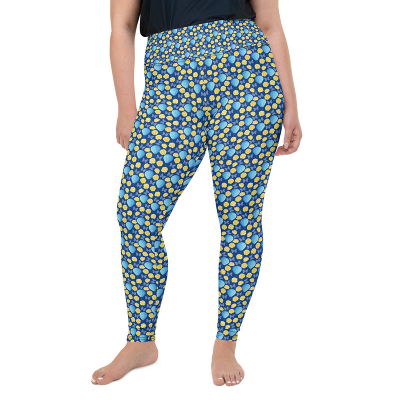 Butterfly & Balloons Curvy Leggings