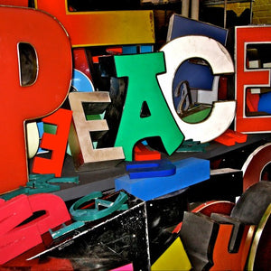 2014 Vision of Peace: MAKE PEACE YOUR SIGN