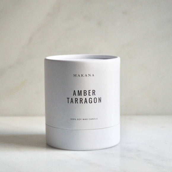 Amber Tarragon Candle by Makana
