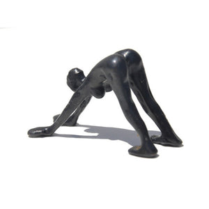 Bronze Sculpture, Downward Dog