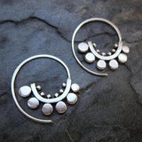 Sunflower Spiral Hoops
