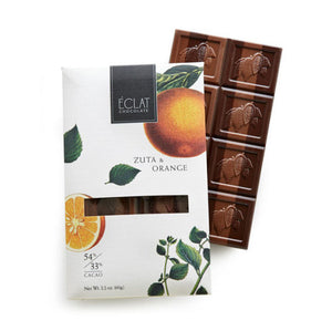 Orange and Zuta Parallel Bar by Éclat Chocolate