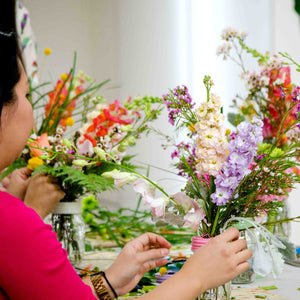 Saturday, May 4, 11am - 12:30pm, Flower Arranging Workshop