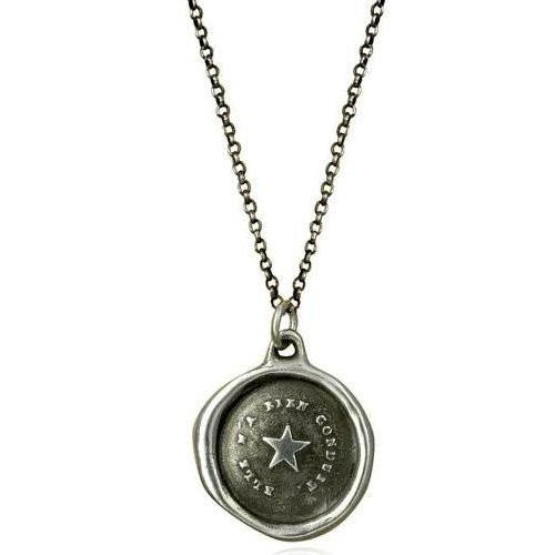 Follow Your Star, Wax Seal Necklace