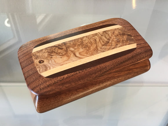 Handhewn Wood Box, Small - The Whole 9 Gallery