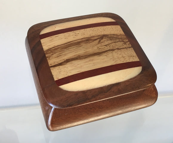 Handhewn Wood Box, SquareRustic Arts - The Whole 9 Gallery
