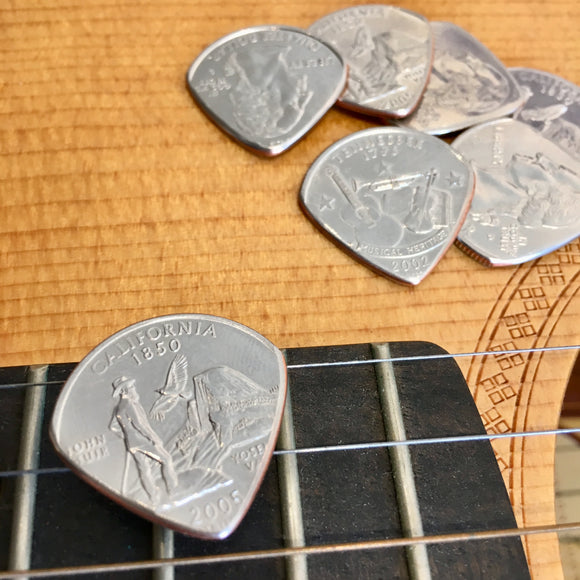 Artisan Coin Guitar PickThe Whole 9 - The Whole 9 Gallery