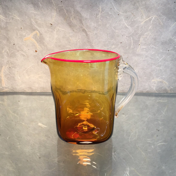 Amber Seaside Pitcher - The Whole 9 Gallery