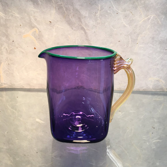 Amethyst Medium Seaside Pitcher - The Whole 9 Gallery