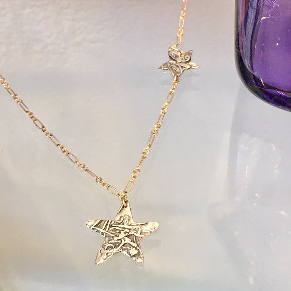 Shooting Star Necklace - The Whole 9 Gallery