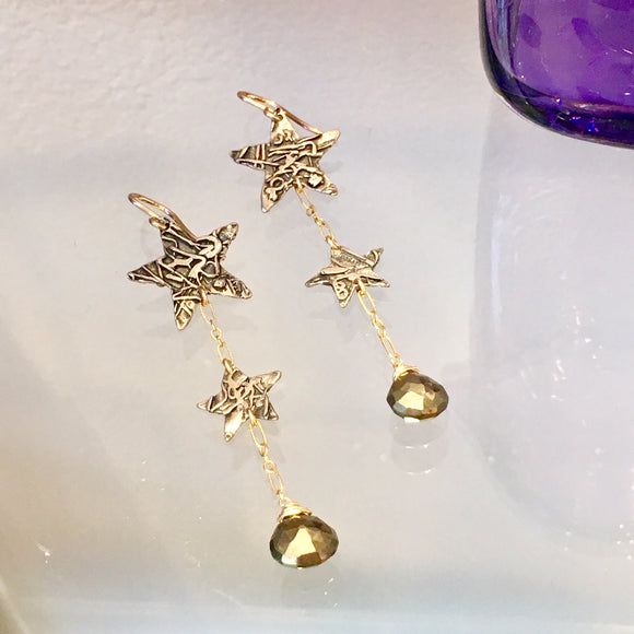 Shooting Star Earrings - The Whole 9 Gallery