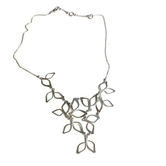 Silver Anthos Bib Necklace - The Whole 9 Gallery