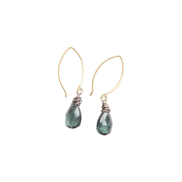Tide Pool Drop Earrings in GoldOriginal Hardware - The Whole 9 Gallery