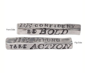 """Be Bold"" Word Bar"
