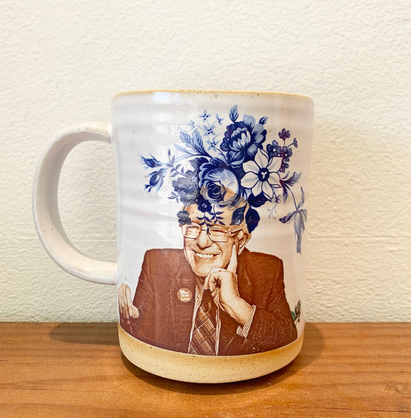 Bernie Mug by Crazy Cat Lady Ceramics