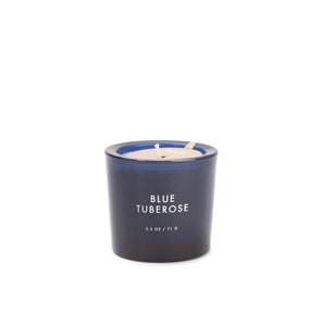 "Blue Tuberose ""Botany"" Candle by Firefly Candle Co."