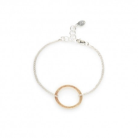 Gold Oval Braceletj + i Jewelry - The Whole 9 Gallery