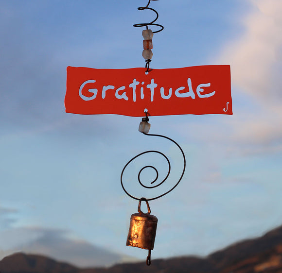 Gratitude Inspirational ChimeJendala - The Whole 9 Gallery