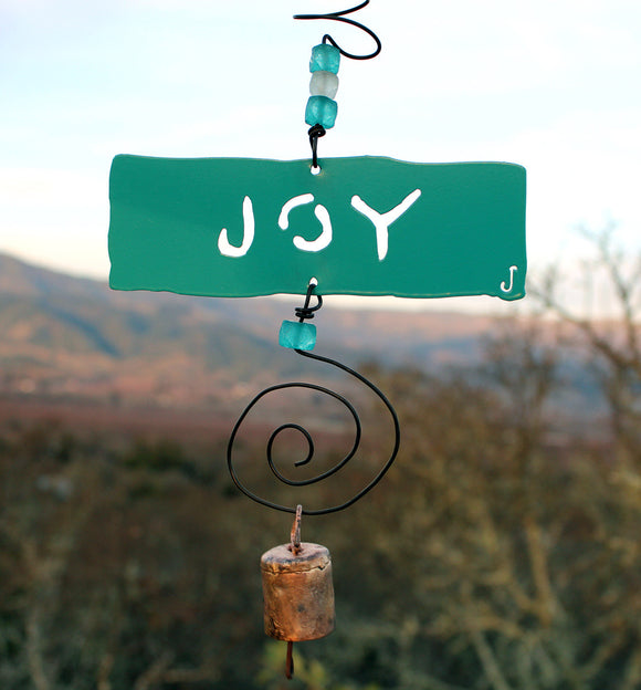 Joy Inspirational Chime - The Whole 9 Gallery