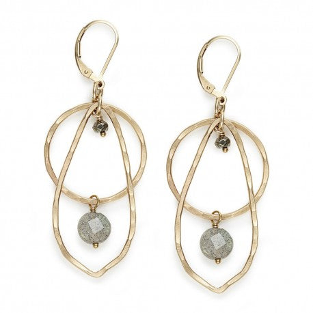 Stratum Leaf Earringsj + i Jewelry - The Whole 9 Gallery