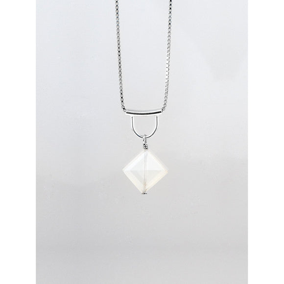 White Moonstone NecklaceTomomi Hamano - The Whole 9 Gallery