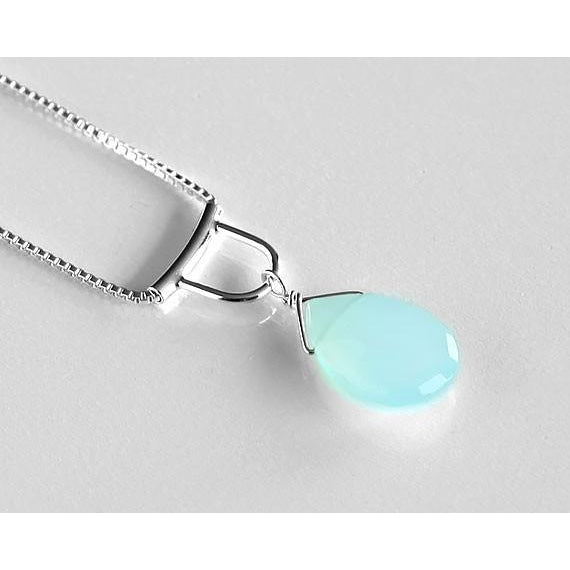 Chalcedony NecklaceTomomi Hamano - The Whole 9 Gallery