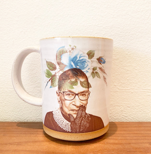 RBG Mug by Crazy Cat Lady Ceramics