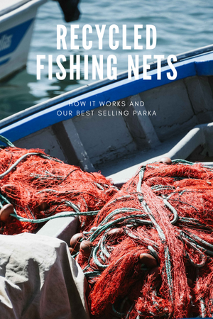 RECYCLED FISHING NETS - HOW IT WORKS