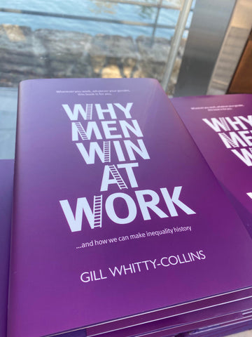 Why men win at work cover, career women, working women, business wardrobe advice