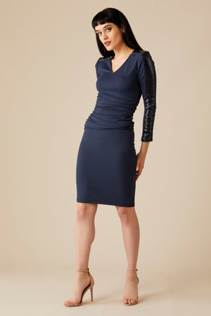 SARA LAQUE DRESS