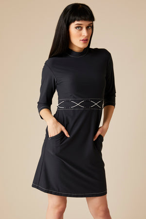 LOUISE DRESS - BLACK