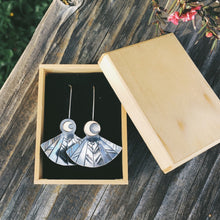 Load image into Gallery viewer, SOAR Earrings || Nighthawk