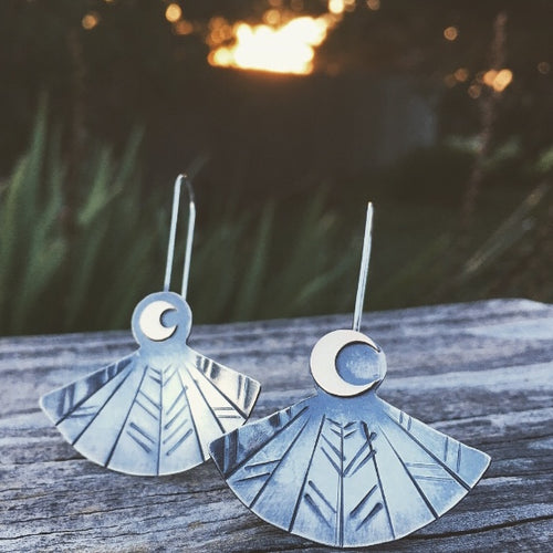 SOAR Earrings || Nighthawk