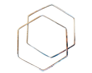 Honey Bangle,  Square Wire