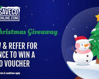 The 12 Days of Christmas Giveaway -win a £100 voucher SaveCo Online Ltd