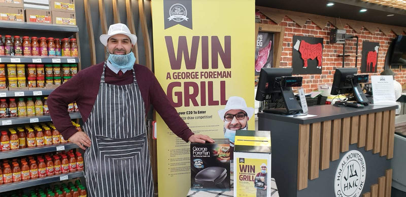 George Foreman Grill prize draw launches SaveCo Bradford