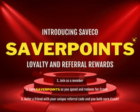 SaveCo SaverPoints - loyalty and referral rewards only at SaveCo Online