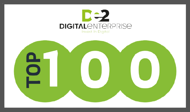 SaveCo - Digital Enterprise Top 100 award
