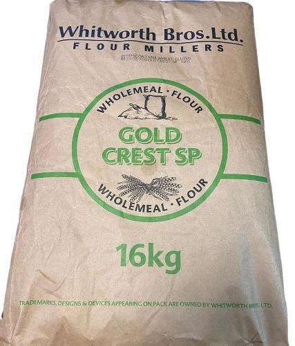 Whitworth Bros.Ltd goldcrest flour miller wholemeal flour - 16kg SaveCo Bradford