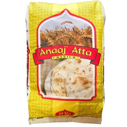 Anaaj Atta medium - 25kg SaveCo Online Ltd
