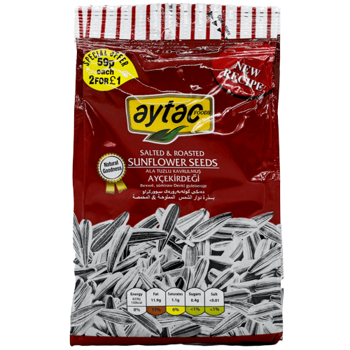 Aytac sunflower seeds salted SaveCo Bradford