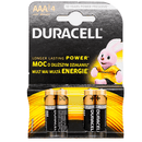 Duracell AA batteries - 4pk - SaveCo Cash & Carry