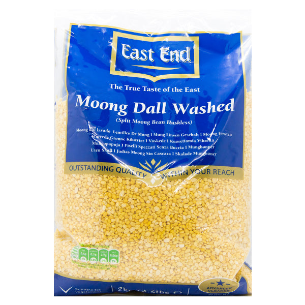 East End moong dall washed