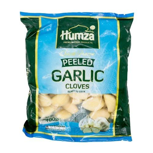Humza peeled garlic cloves SaveCo Bradford