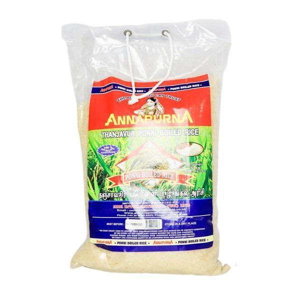 Annapurna thanjavur ponni boiled rice 5kg SaveCo Online Ltd