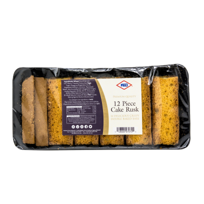 KCB double baked cake rusks - 12s - SaveCo Cash & Carry